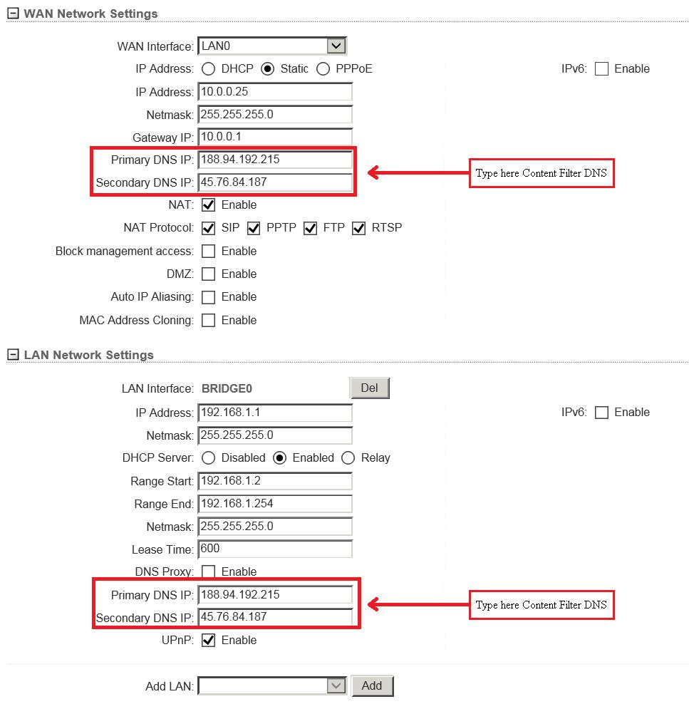 Unifi Redirect Dns