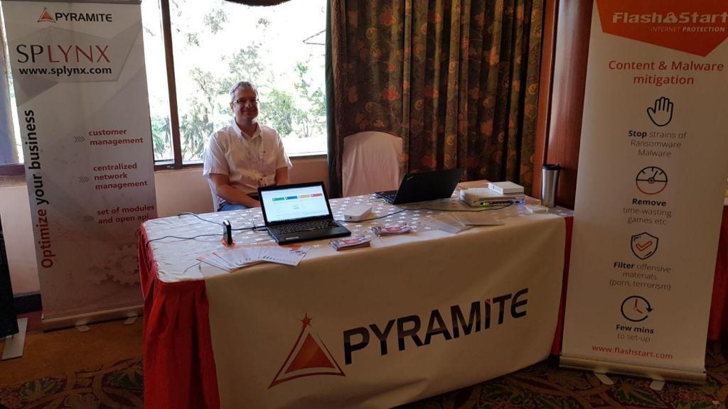FlashStart and Pyramite at Mikrotik event in Nairobi